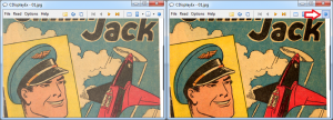 Comic Book Reader Color Correction