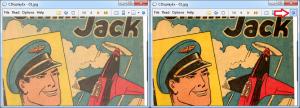 Comic Book Reader Color Correction